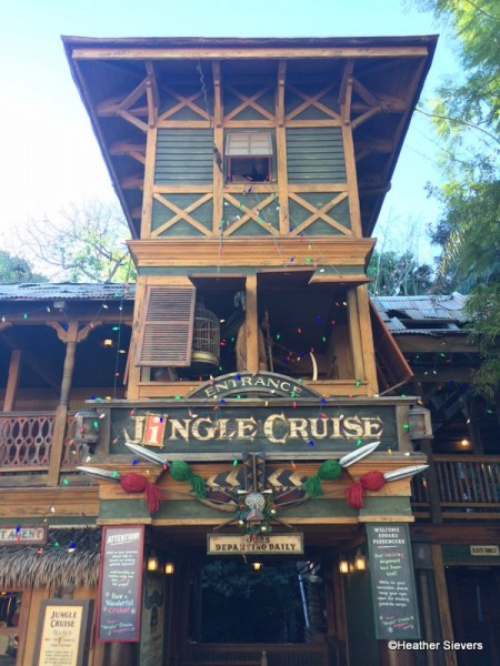Jingle Cruise Entrance