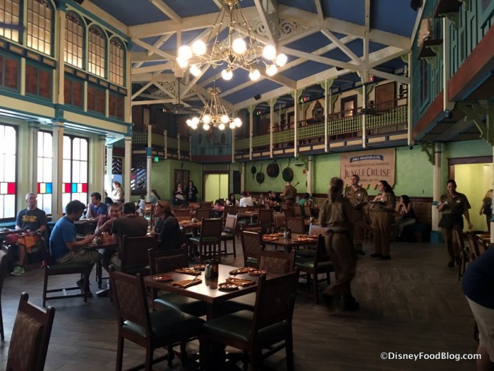 Crew's Mess Hall in Skipper Canteen