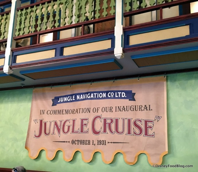 Inaugural Jungle Cruise Banner