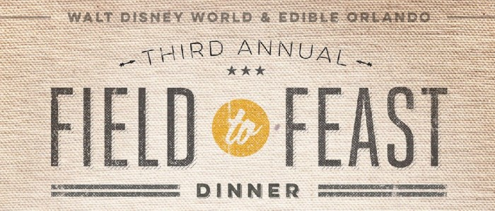 3rd Annual Field to Feast Dinner Logo 2016
