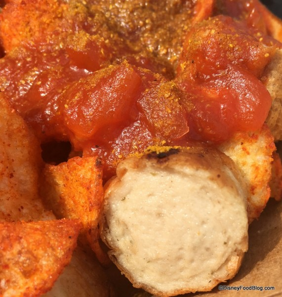 Currywurst Close-Up