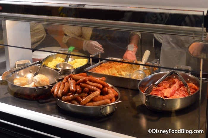 Hot Breakfast Food Items