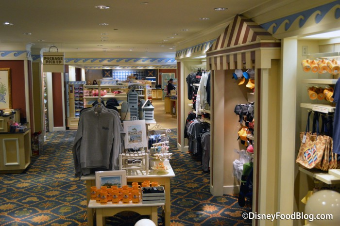Gift Shop in the Beach Club Marketplace