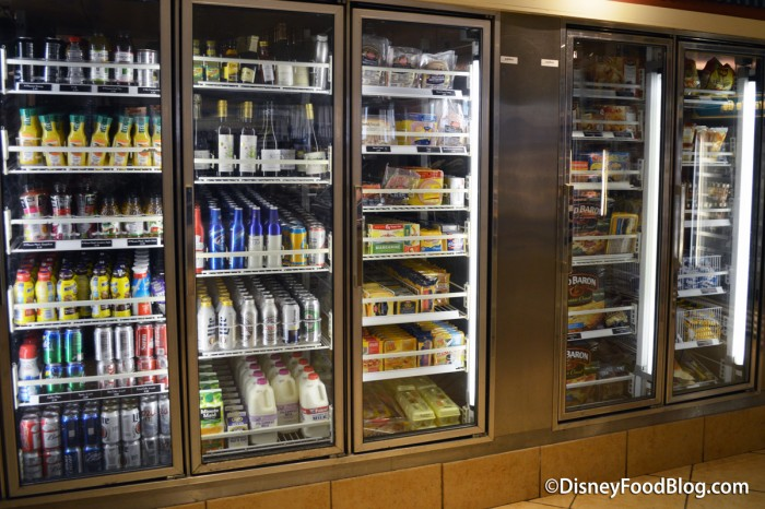 Refrigerated Bottled Items