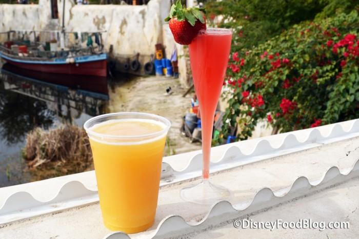 Tusker Beermosa and Watermelon Mimosa
