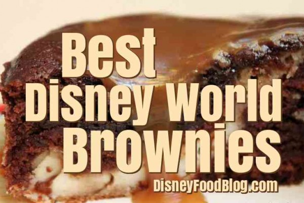 The Best Brownies in Walt Disney World
