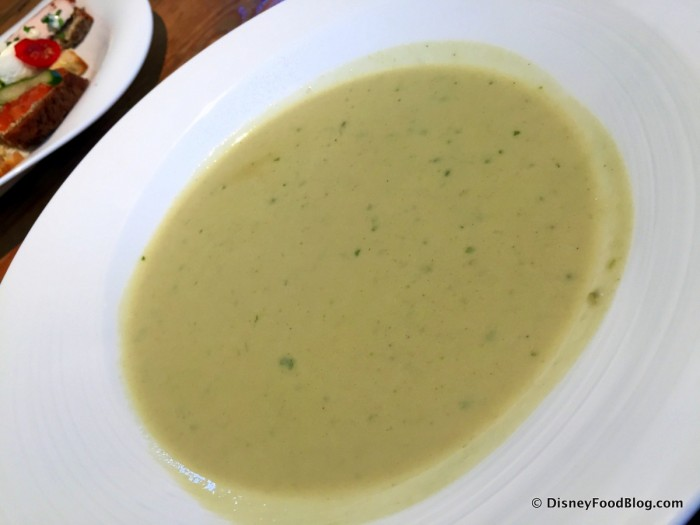 Colcannon Soup Served at Dunbrody Country House Hotel