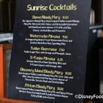 Review: Watermelon Mimosa and Beermosa at Animal Kingdom's Dawa Bar