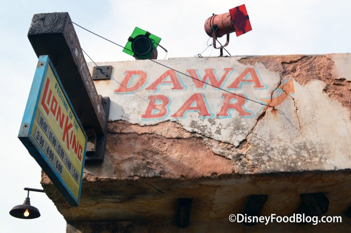 Animal Kingdom's Dawa Bar