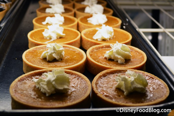 Mini Pumpkin Tarts
