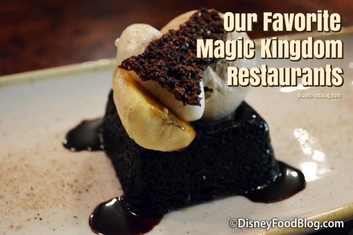 Favorite Magic Kingdom Restaurants Disney World