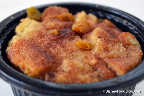 Review: French Toast Bread Pudding at the Beach Club Marketplace
