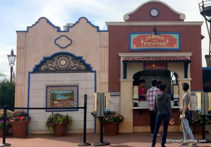 Jardin de Fiestas Booth