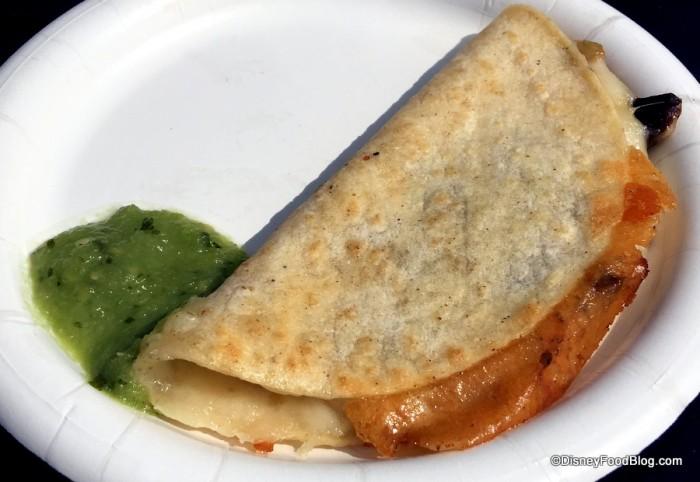Corn Tortilla Quesadilla