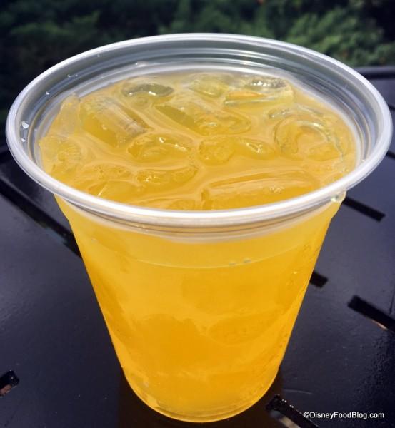 Honey Mango Wine Cooler Close Up