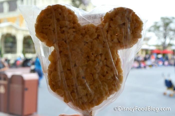 Classic Mickey Rice Krispy Treat