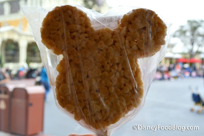 Classic Mickey Rice Krispy Treat