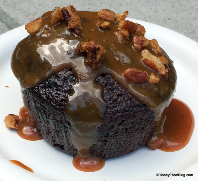 Warm Chocolate Cake