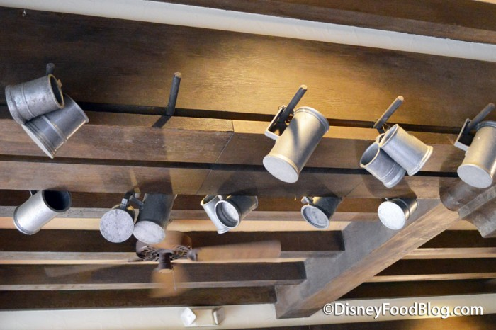 Beer Mugs Hanging