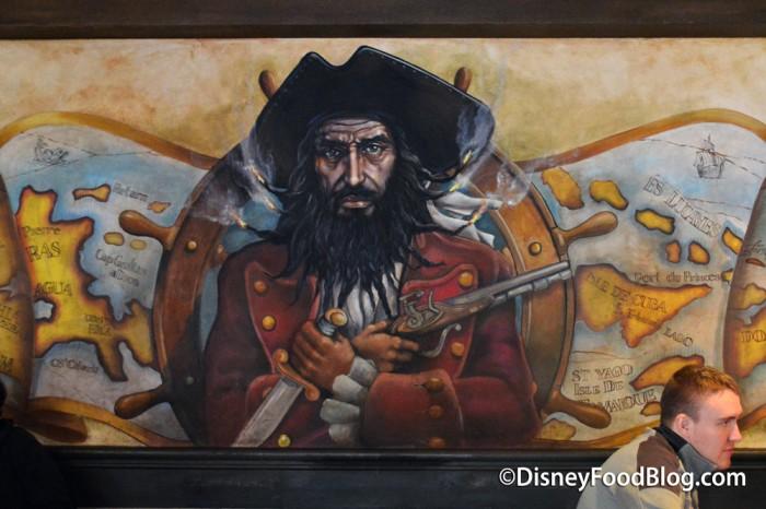 Blackbeard Painting