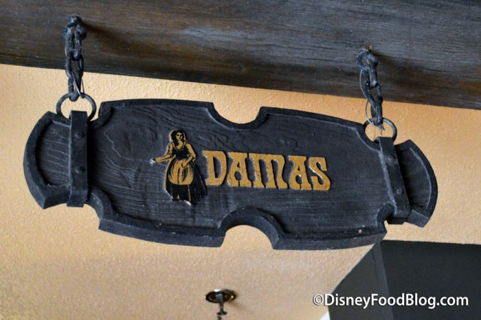 Damas Room Sign