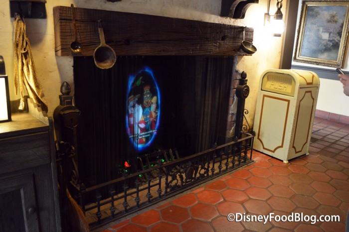 Fireplace Playing a Magic Portal