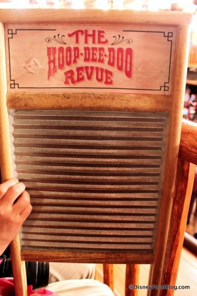 Hoop-Dee-Doo Washboard