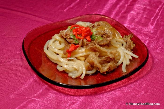 Beef Teriyaki Udon