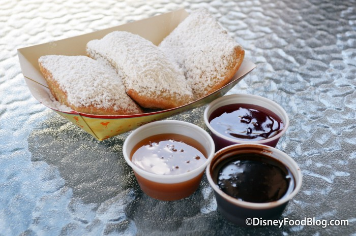 Beignets and Dipping Sauces!