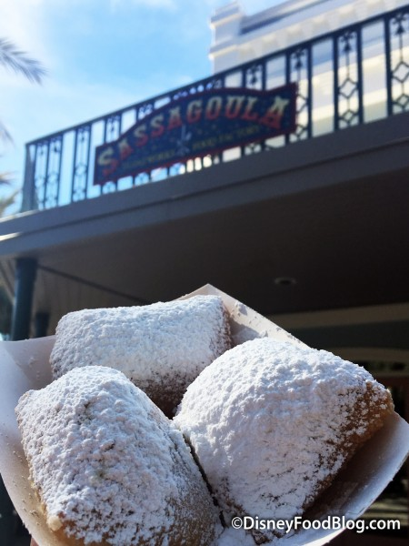 Beignets From Sassagoula Floatworks and Food Factory