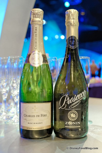 Charles de Ferre and Monin Prosecco