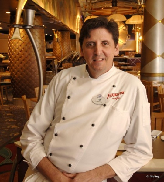 Tim Keating, Chef de Cuisine at Flying Fish Cafe, is Reportedly Leaving The Walt Disney Company