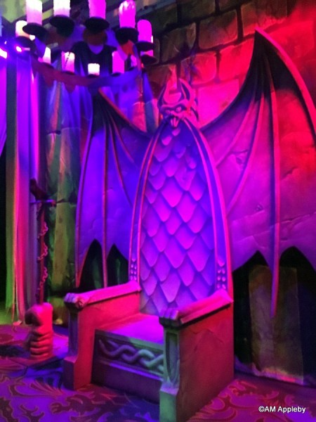 Maleficent's Throne