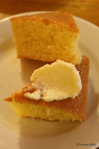 Close Up of Corn Bread
