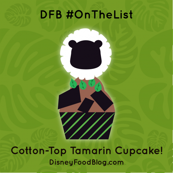 #OnTheList: Cotton-Top Tamarin Cupcake!