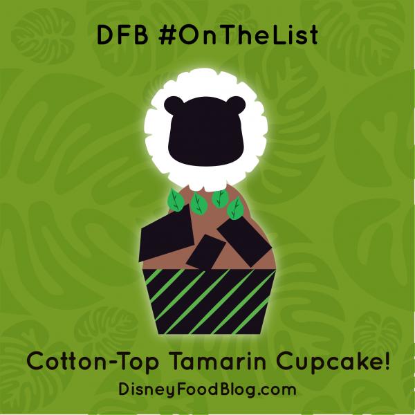 #OnTheList: Cotton-Top Tamarin Cupcake!