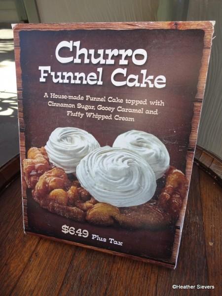 Churro Funnel Cake Signage