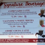 Review: Cupid's Kiss Latte at Joffrey's Coffee Kiosks in Disney World