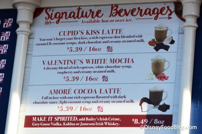 Valentines Day Themed Beverages