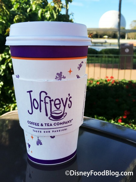 Joffrey's Coffee in Disney World