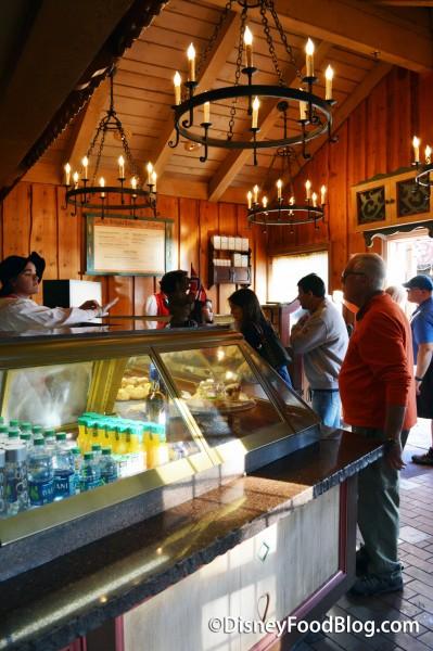 Inside Kjottkake at Kringla Bakeri og Kafe
