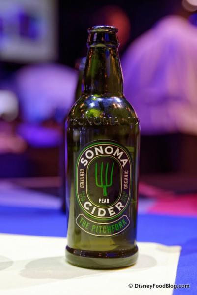 Sonoma Organic Pear Cider