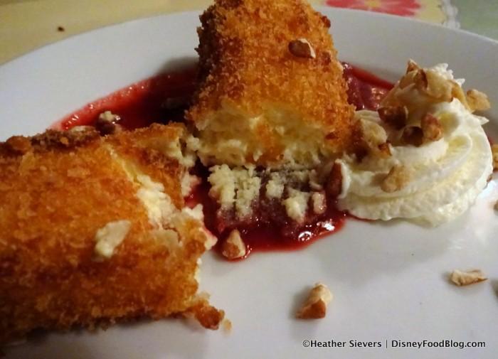 Fried Cherry Cheesecake