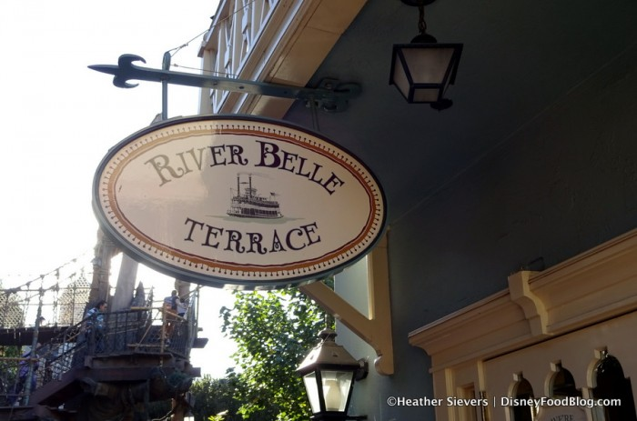 River Belle Terrace sign