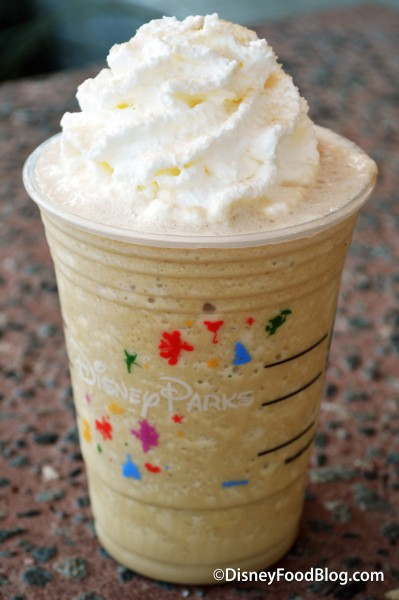 Smoked Butterscotch Frappuccino