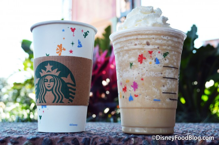 Smoked Butterscotch Latte and Frappuccino