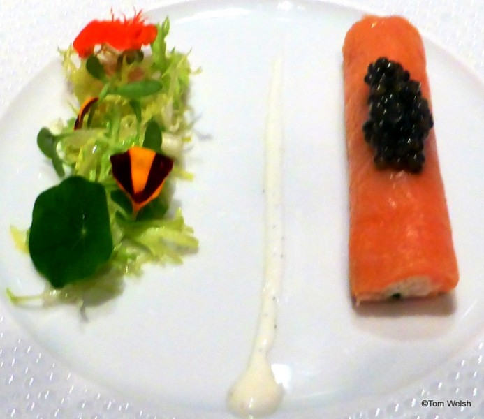 Smoked Salmon and Alaskan Crab