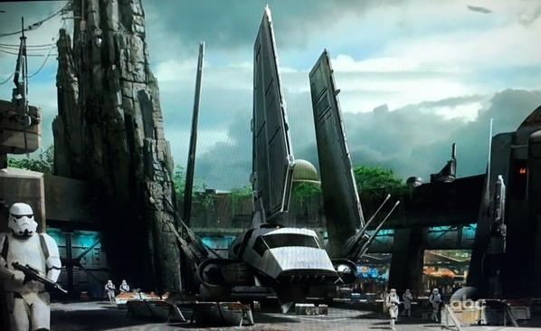 Star Wars Land Concept Art ©Disney