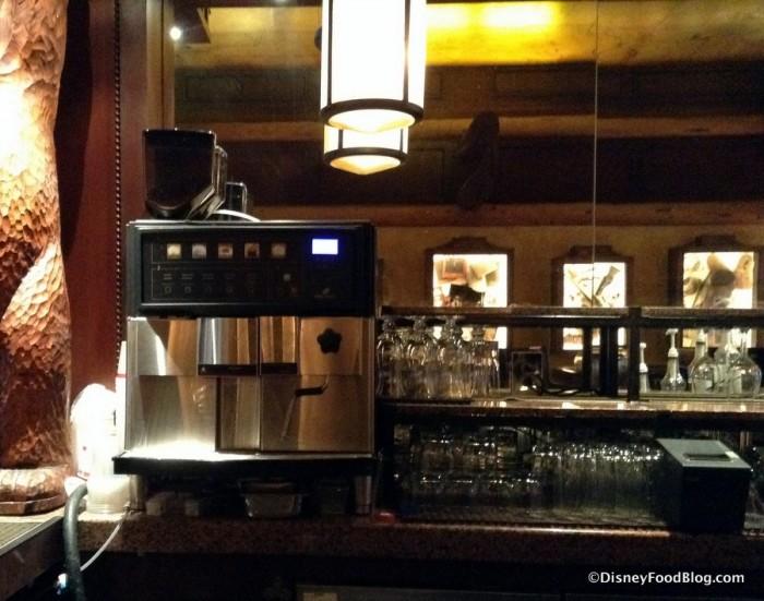 Espresso Machine converts the Lounge into the Coffee Company