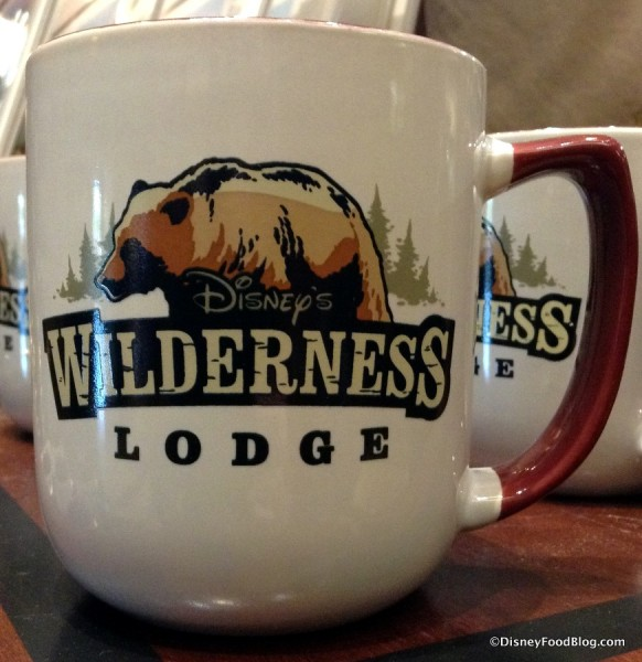Front of Wilderness Lodge Mug